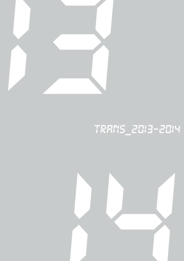 """レジデンス・サポート """"trans_2013-2014"""""""