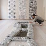 Fountain Studies - work01 photo by さっぽろ天神山アートスタジオ