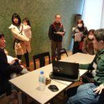 Open studio photo by Yasuhiro Tani